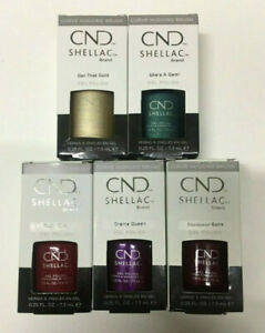 New CND Shellac Brand Gel Polish 7.3ml Ruby Ritz