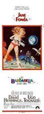 Barbarella Movie Poster Insert #01 Replica