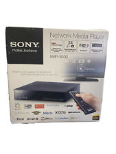 Sony Streaming Player SMP N100 Digital Media Player W/ Remote New Sealed In Box