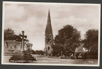 Postcard Llandaff near Cardiff the Cathedral and Village Cross RP
