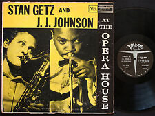 STAN GETZ J.J. JOHNSON At The Opera House LP VERVE MG V-8265 US 1957 DG MONO