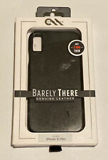 Case-Mate Apple iPhone XS Max Barely There Leather Case