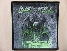 Aufnäher - Patch - Overkill - White Devil Armory - Death Angel - Heathen - Toxik