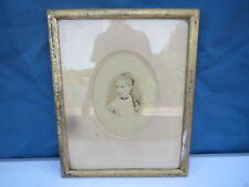 Photo Antique in Frame Antique - Portrait Woman Old Young Girl