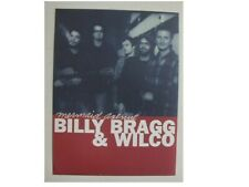 Wilco & Billy Bragg Promo Poster