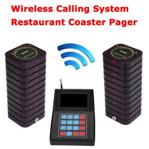 Drahtloses Ferngespr/ächssystem Restaurant-Warteschlangen-Rufsystem Ferngespr/ächssystem 10 Pager EU Restaurant-Pager-System