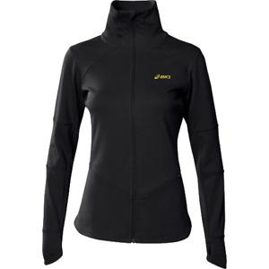 Asics Women's Training Jacket Sports Running Training Jacket - Black - New