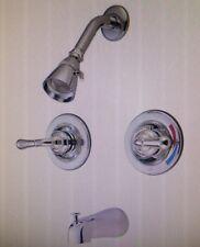 Kingston Brass KB678 Two Handle Tub & Shower Faucet Satin Nickel