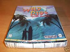 WILD RIDE SURF SHACK SIM SIMULATOR PC CD ROM SEALED NEW
