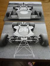 TYRRELL Ford Formula 1 originale stampa foto 1974 JM