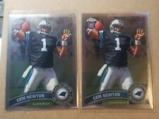 2011 Topps Chrome RC Cam Newton Rookie #1 lot of 2