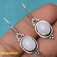 Plated Fashion Jewellery Earring Er-32200 5.5 Gm Opalite 925 Sterling Silver