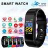 Wasserdicht IP67 Smartwatch Pulsuhren Fitnessband mit Pulsmesser