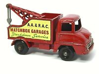 Matchbox Lesney No.13c Ford Thames Trader Wreck Truck (FACTORY ERROR)