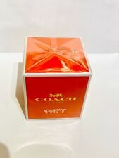 BRAND NEW FACTORY SEALED, RARE COACH POPPY PERFUME. DISCONTINUED SCENT!