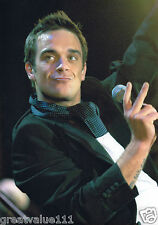 ROBBIE WILLIAMS PHOTO 2005 UNIQUE EXCLUSIVE IMAGE HUGE 12 INCH UNRELEASED  A GEM