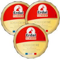 3x Erdal Classic Schuhcreme DOSE Alle Farben pflegt schützt & frischt Farbe auf