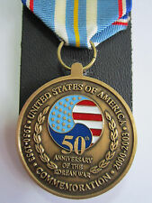 U.S. 50th Anniversary of the Korean War Medal in Presentation Case of Issue