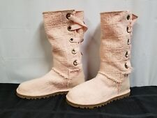 "Ugg Genuine Sheepskin 12"" Boots. Lace Up. Preowned."