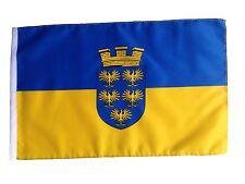 Fahne Flagge Niederösterreich 30x45 cm mit Schaft