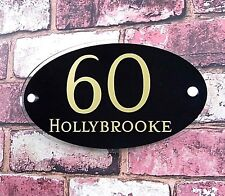 Modern House Sign/Number/Plaque in a CHOICE OF COLOURS