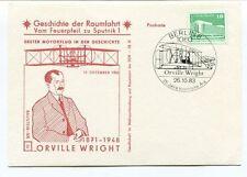 1983 Geschichte Raumfahrt Vom Feuerpfeil Sputnik 1 Orville Wright Berlin 8 1080