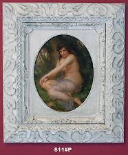 NUDE LADY incorniciato oleograph/oilograph 811#p Foto riproduzione, Arte.