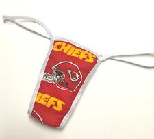 NEW NFL KANSAS CITY CHIEFS SEXY PANTY THONG XS/SMALL CHECK OUT MY EBAY STORE