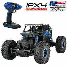 2.4G RC Monster Truck Off-Road Vehicle 4WD Remote Control Buggy Crawler Car Toy