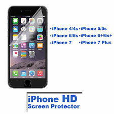HD Ultra Clear Screen Protector PET Film For iPhone 4 4S 5 5S 6+ 6s 6S Plus 7 7+