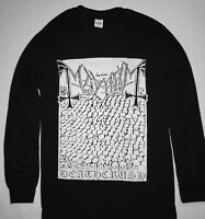 MAYHEM Tshirt Deathcrush Demo Long Sleeve Black Metal  S-XL FREE SHIP darkthrone