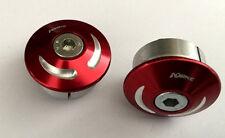 DUCATI Monster 696/796/1100 Tappi Telaio Kit 2 rosso