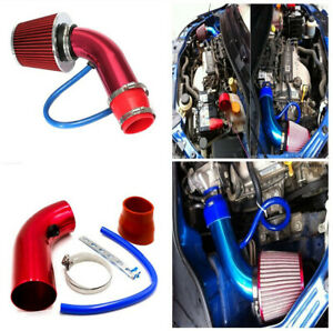 Durable Aluminum Alloy Air Intake Filter+Cold Air Intake Pipe Set for Car Truck
