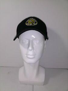 New NWT MLS Columbus Crew Soccer Club Logo Adidas Hat Adjustable Black