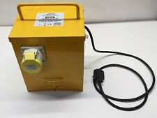 Sealey WST5000MV Portable Transformer 5kVA Vented Single Outlet 32A USED#
