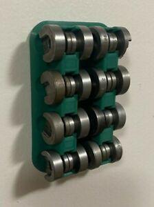 Shell Holder Rack Holds 16 Wall mount Reloading Rock Chucker Challenger Boss