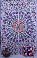 Indian Twin Hippie Mandala Tapestry Wall Hanging Throw Bedspread Tapestries Deco