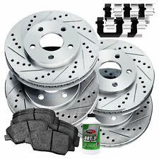 Stirling Note: 300 mm 2013 For Ford Escape Front Anti Rust Coated Disc Brake Rotors and Ceramic Brake Pads