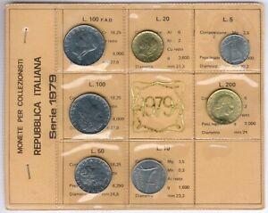 Italy 7Item´s/Coinset 1979 UNC.-