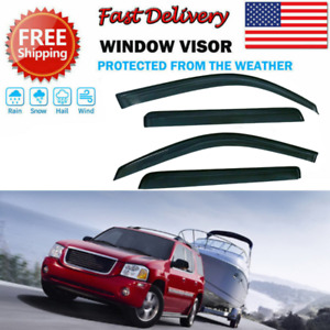 Window Visors Rain Guard GMC Envoy 04 05 06 2004-2006 XUV SLE XUV SLT Only