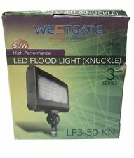 Westgate LED Flood Light W/ Knuckle Mounting Up to 110 Lumens/Watt 120-277V 104°