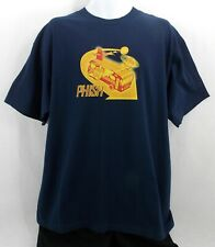 PHISH 1999 Fall Tour Shirt X Lrg Navy Phish Dry Goods Hoover Bus BRAND NEW WOT!