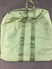USGI Large Nylon Flyer's Kit Bag OD Green Good Condition