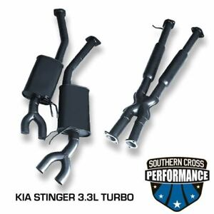 2017-2018 KIA Stinger GT 3.3L TWIN TURBO Cat-Back Exhaust System