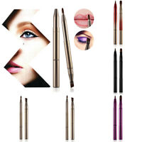 Eyeshadow Lip Brushes Retractable Eyebrow Sticks Eyeliner Applicator