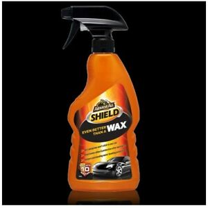 NEW Armor All Shield Wax Even Better Than Wax Armorall Cars Boats Trigger 500ml
