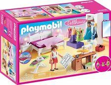 "PLAYMOBIL® Dollhouse 70208  "" Schlafzimmer mit Nähecke "", NEU & OVP"