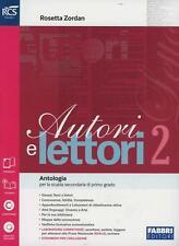 Autori e lettori vol.2 Fabbri scuola, Zordan, codice:9788891506528