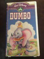 VTG RARE Walt Disney Dumbo VHS StillPackagedNEW Masterpiece Collection Clamshell