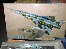 FUJIMI 1/48th SCALE FRENCH / SWISS BREGUET MIRAGE 111 MODEL KIT ( # P-14 )